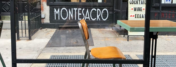 Montesacaro Pinseria is one of NYC.