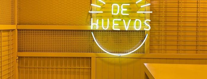 De Huevos is one of สถานที่ที่บันทึกไว้ของ Oscar.