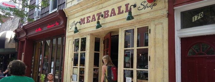 The Meatball Shop is one of I'm gonna eat-cha.