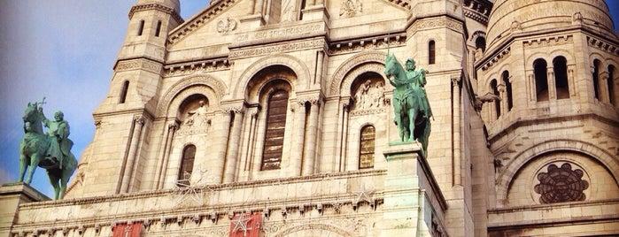 Parvis du Sacré-Cœur is one of Lugares favoritos de Chloe.