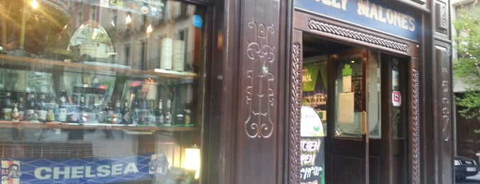 Molly Malone's is one of copas.