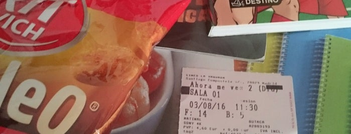 Cines La Vaguada is one of Cristinaさんのお気に入りスポット.