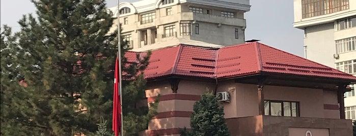 Посольство Турции / Türk Büyükelçiliği is one of สถานที่ที่ Ali ถูกใจ.