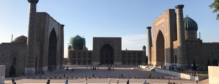 Samarqand / Samarkand / Самарканд is one of Lieux qui ont plu à Çağrı.