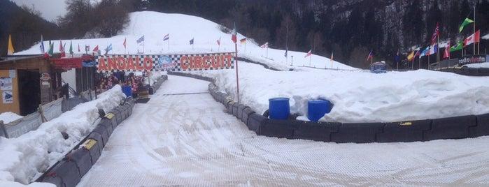 Ice Racing Kart is one of Trentino Ski Sunrise.