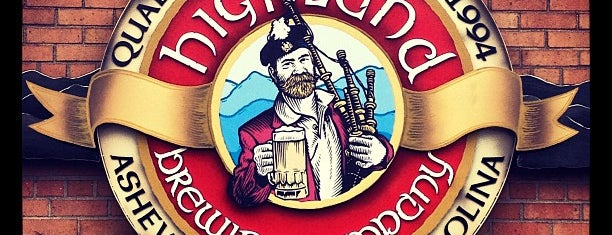 Highland Brewing Company is one of Asheville, NC.