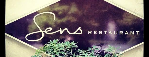 Sens Restaurant is one of Posti che sono piaciuti a Scott.