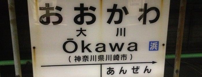 Okawa Station is one of JR 미나미간토지방역 (JR 南関東地方の駅).