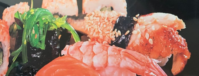 Sushi House is one of Orte, die Hannele gefallen.
