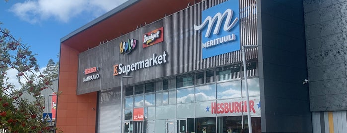 Kauppakeskus Merituuli is one of Malls.