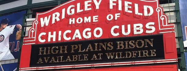 Wrigley Field is one of Baseball Stadiums (MLB)....