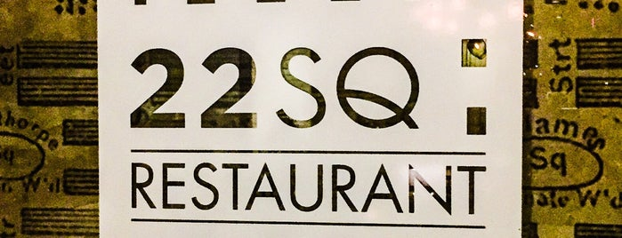 22 Square Restaurant & Bar is one of Encounter cont'd.