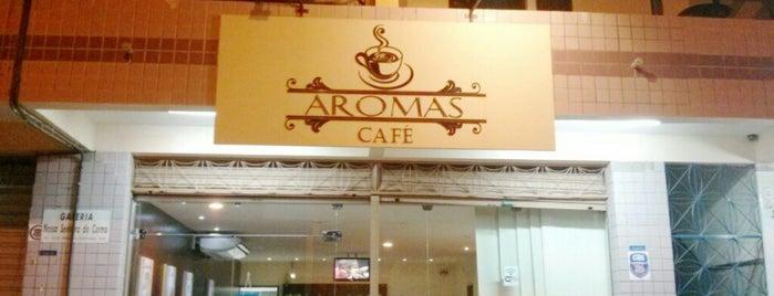 Aromas café is one of Lugares para conhecer.