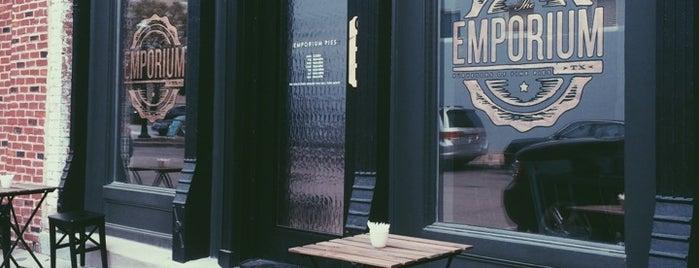 Emporium Pies is one of สถานที่ที่ Michael ถูกใจ.
