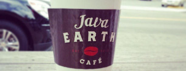 Java Earth Cafe is one of Lajolla.