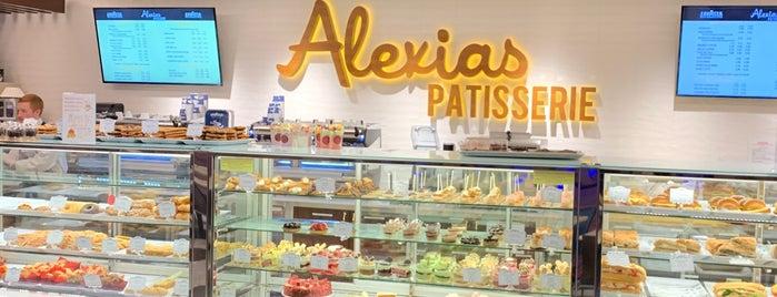 Alexias Patisserie is one of สถานที่ที่ David ถูกใจ.