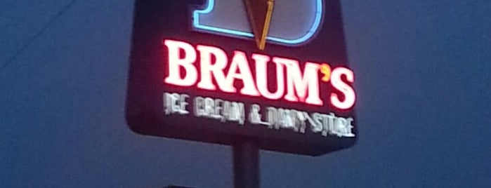 Braum's Ice Cream & Dairy Store is one of My Haunts.