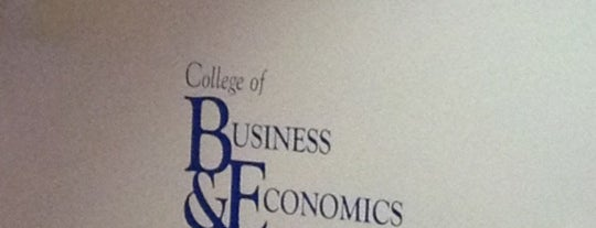 Business & Economics is one of WVU Mountaineer.