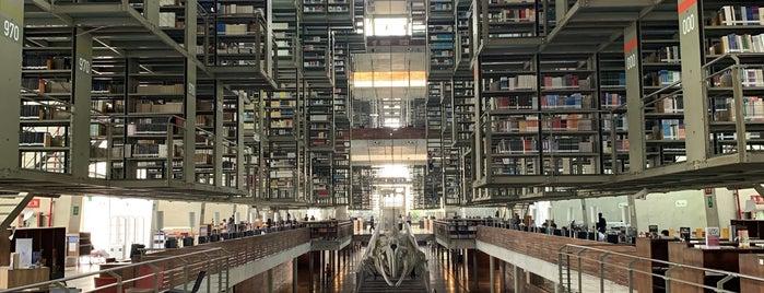 Biblioteca Vasconcelos is one of Manuelさんのお気に入りスポット.