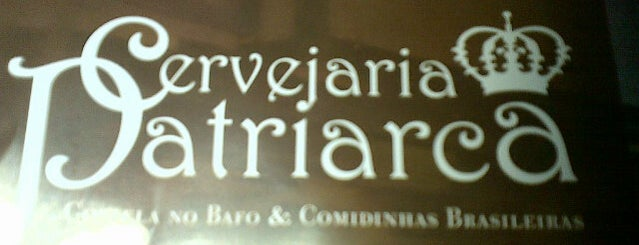 Cervejaria Patriarca is one of Best Bars in Sao Paulo.
