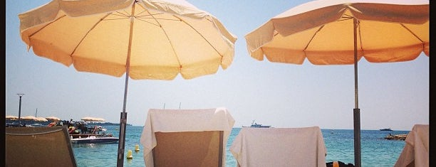 Plage du Majestic is one of Cannes-Nice-Monaco.