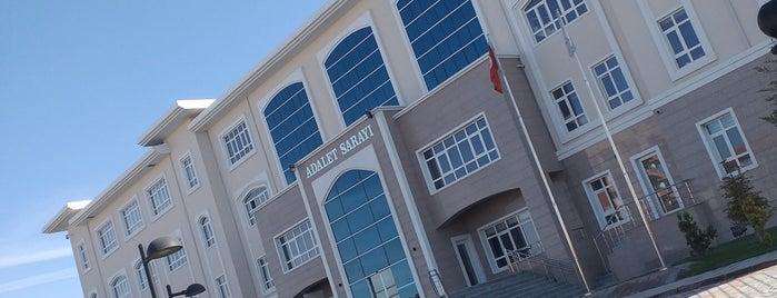 Burdur Adalet Sarayı is one of Tempat yang Disukai Yılmaz.