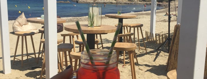 Indie beach is one of Sant Tropez🇫🇷.