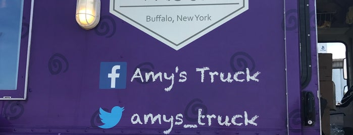 Amy's Truck is one of Buffalo!!.