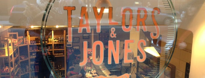 Taylors & Jones is one of 🦁 님이 저장한 장소.