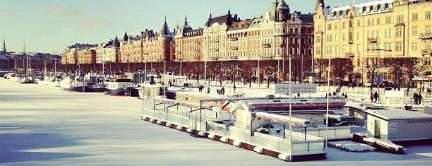Strandvägen is one of Stockholm.