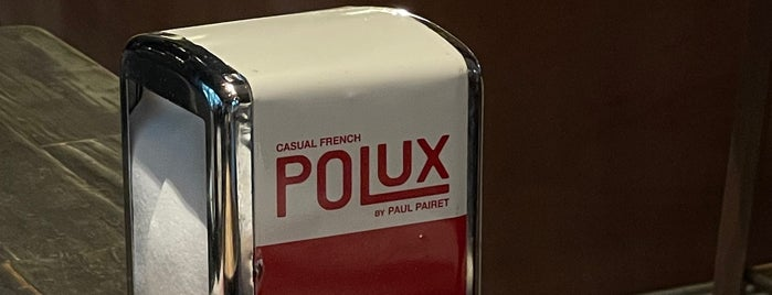 Polux by Paul Pairet is one of SH.