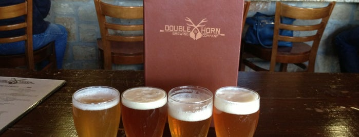 Double Horn Brewing Company is one of Texas Craft Breweries.