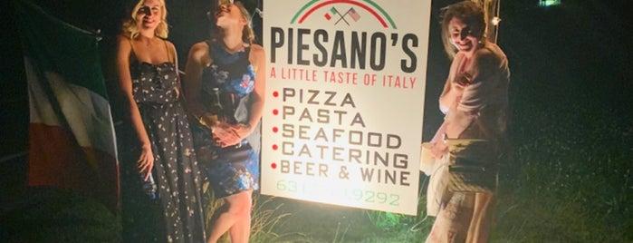 Piesano's is one of Caroline'nin Beğendiği Mekanlar.