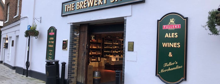 Fuller's Brewery Shop is one of Beer / Ratebeer's Top 100 Brewers [2018].