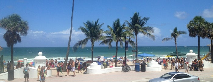 Las Olas & A1A Beach Front Ave BEACH ! is one of Fort Lauderdale visitados.