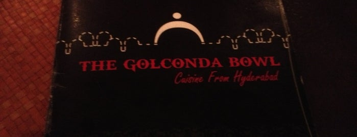 The Golconda Bowl is one of India.