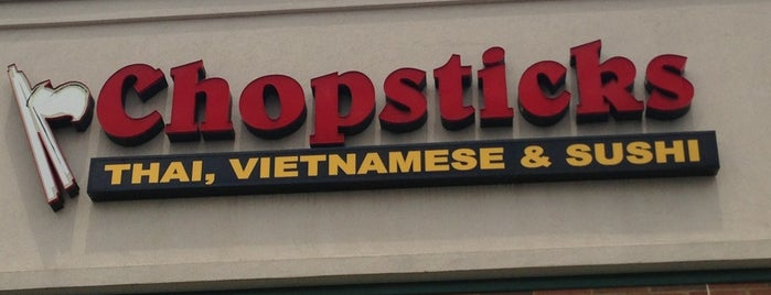 Chopsticks is one of Lieux qui ont plu à Zander.