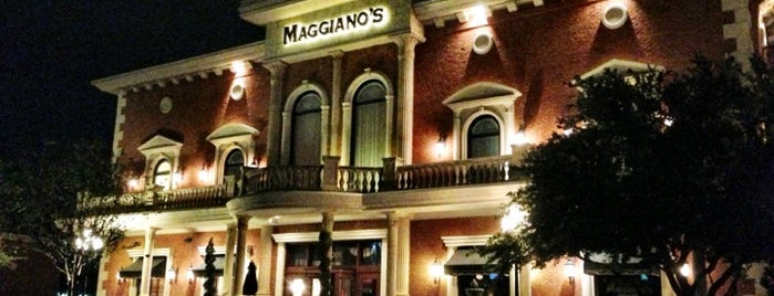 Maggiano's Little Italy is one of Not-so-Usual Things to Do.