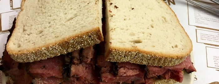 Katz's Delicatessen is one of 15 Bucket List Sandwiches in NYC.