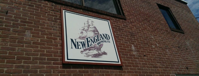 New England Brewing Company is one of Coleさんのお気に入りスポット.