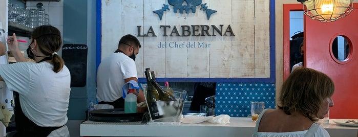 La Taberna del Chef del Mar is one of 🎩💍Ocasió Especial (5)👠👛.