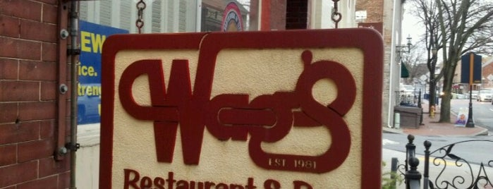 Wag's Restaurant is one of 5 Best: Burgers in Frederick.