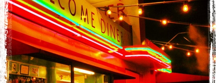 Welcome Diner is one of Lugares guardados de Andy.
