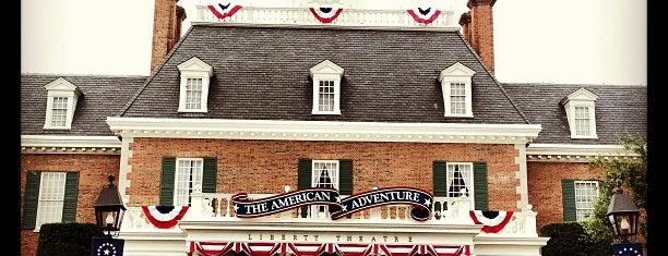 American Adventure Pavilion is one of Walt Disney World.