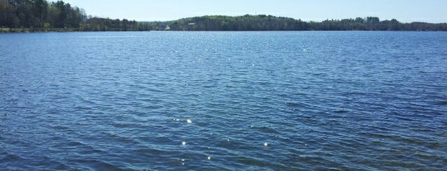 Lake Wassookeag is one of CBS Sunday Morning 4.