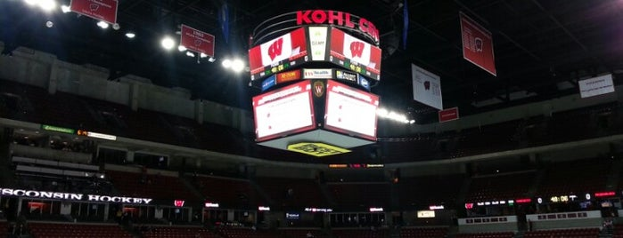 The Kohl Center is one of Venues....