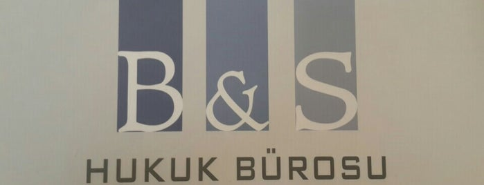 B & S HUKUK BÜROSU is one of Posti salvati di Emrah.