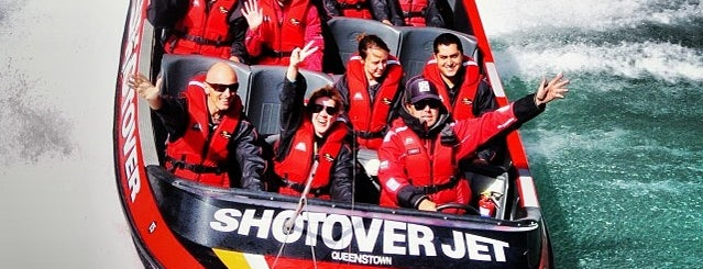 Shotover Jet is one of Locais curtidos por Alan.