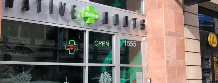 Native Roots Dispensary Denver Downtown is one of Tappin the Rockies...