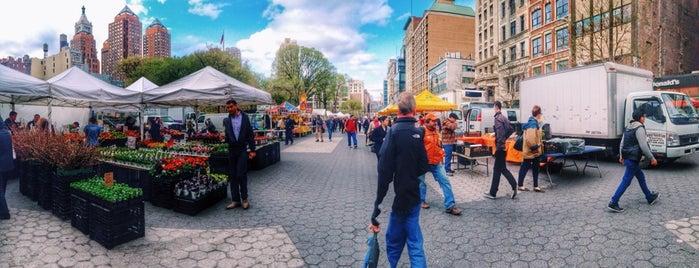 Union Square Greenmarket is one of Nova York.
